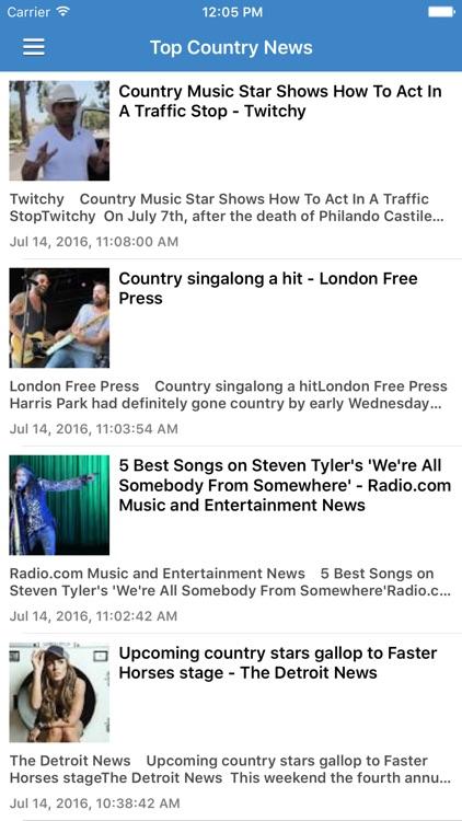 Country Music Pro - Songs, Radio, Music Videos & News screenshot-4