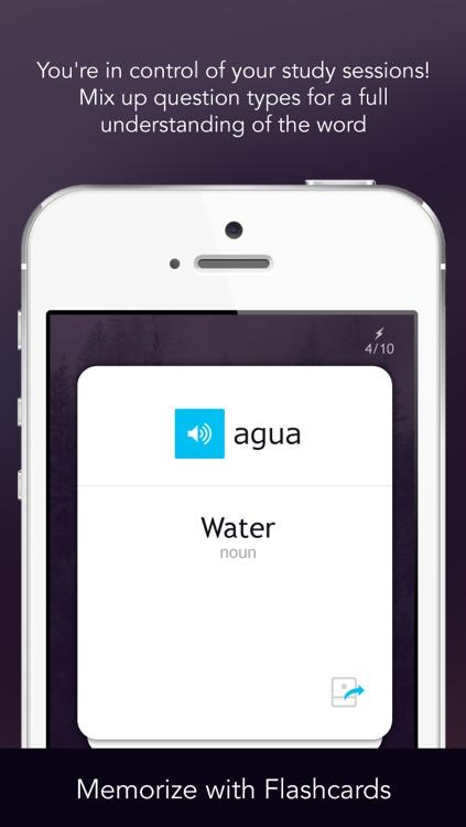 Learn Spanish - Free WordPower screenshot-4