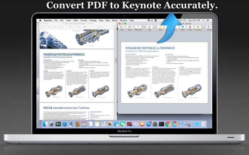 PDF to Keynote Super
