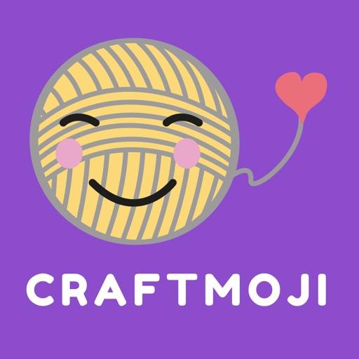 Craftmoji - the cute craft sticker App icon