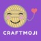 Take your love of craft to the next level with this super fun craft emoji and sticker app