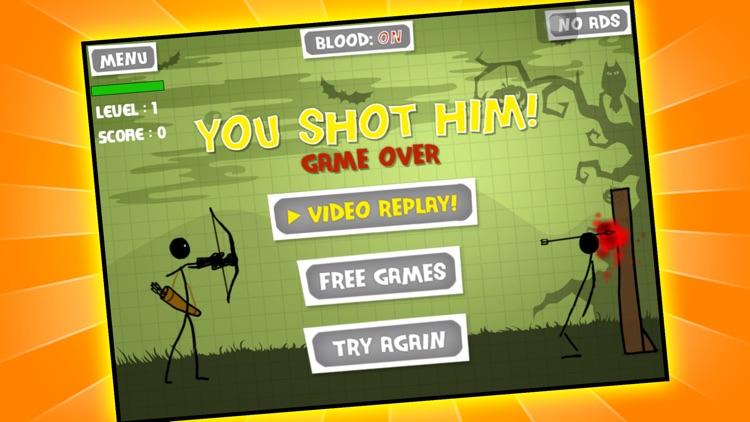 Stickman Pumpkin Shooting Showdown Bow and Arrow Free: Halloween Edition screenshot-3