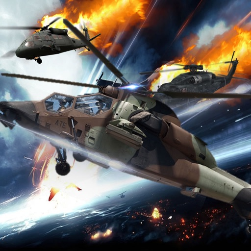 Battle Of Speed On Copter - Amazing Helicopter Simulator Game