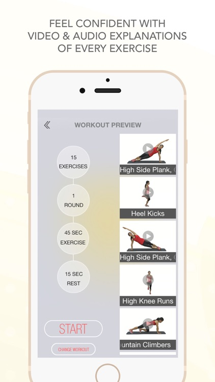 FitSpark - High Intensity Exercise Pal For Busy People & Moms: HIIT Routines For Home, Hotel Workout screenshot-3
