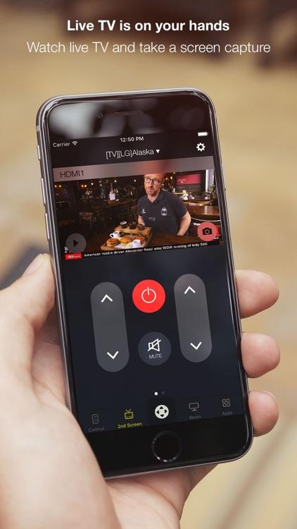 Smart Remote for LG Smart TVs