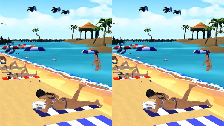 VR Visit Real Tropical Summer Beach Free By A V Logix