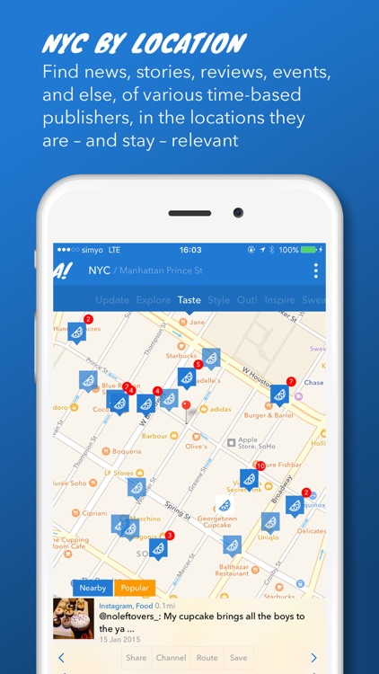 Best Nyc Map App.Allover Nyc The Best Sources For New York City On One Map By Max Ii Ug