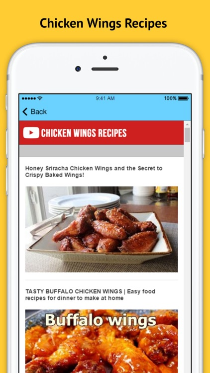 Chicken Wings Recipes screenshot-2