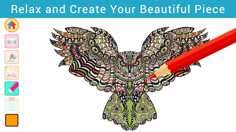 Colorflo Therapy: Coloring Book for Stress Relieving  Free
