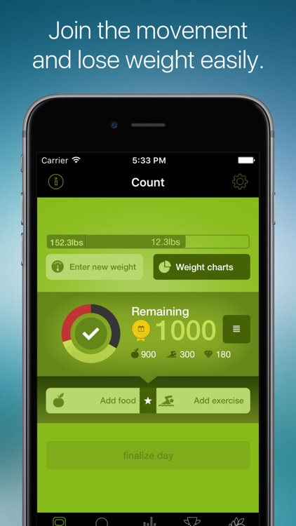 arise 1 - Calorie Tracker & Fitness Activity App