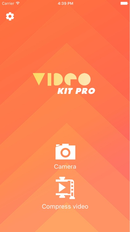 VideoKit Pro - a toolkit for capturing video in small size or compressing your video library