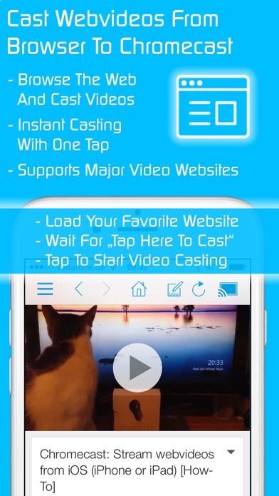 Video & TV Cast for Chromecast: Stream Movies App app image