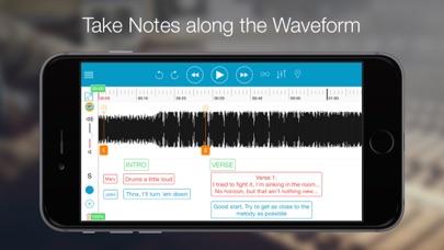Notetracks-Take notes on music screenshot 2