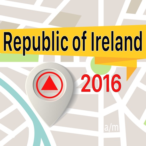 Republic of Ireland Offline Map Navigator and Guide
