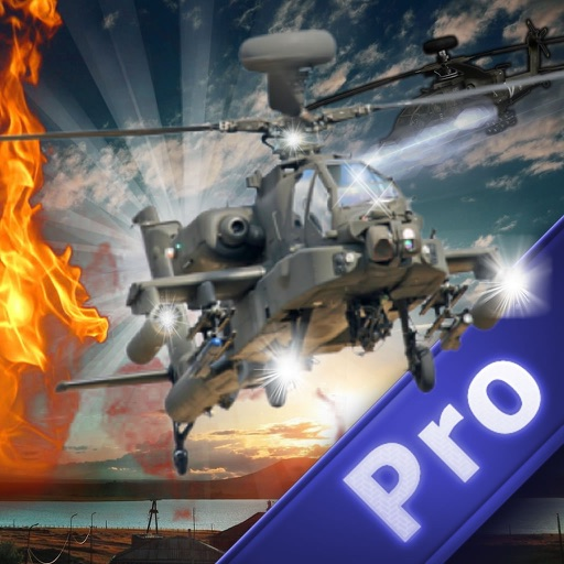 Burning In The Sky Helicopter Pro - Magic War Strike Combat Fly In The Sky