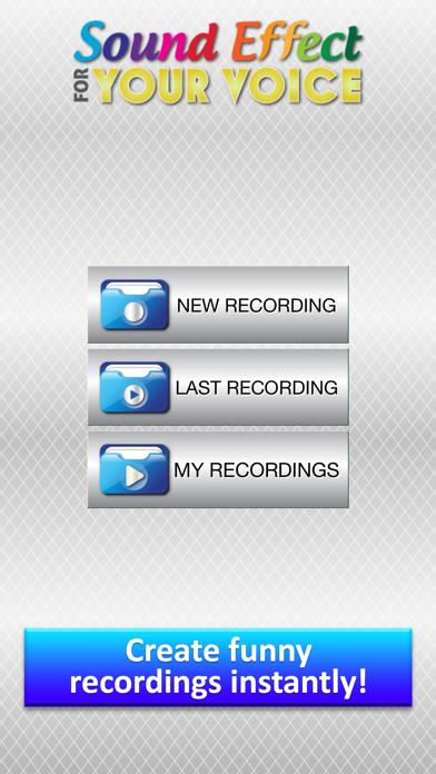 Efectos de Sonido para tu Voz - Transformar Grabaciones dentro Gracioso Sonidos con Modificador de VozCaptura de pantalla de1