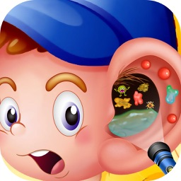 Ear Surgery - Ear treatment doctor and crazy surgery and spa game