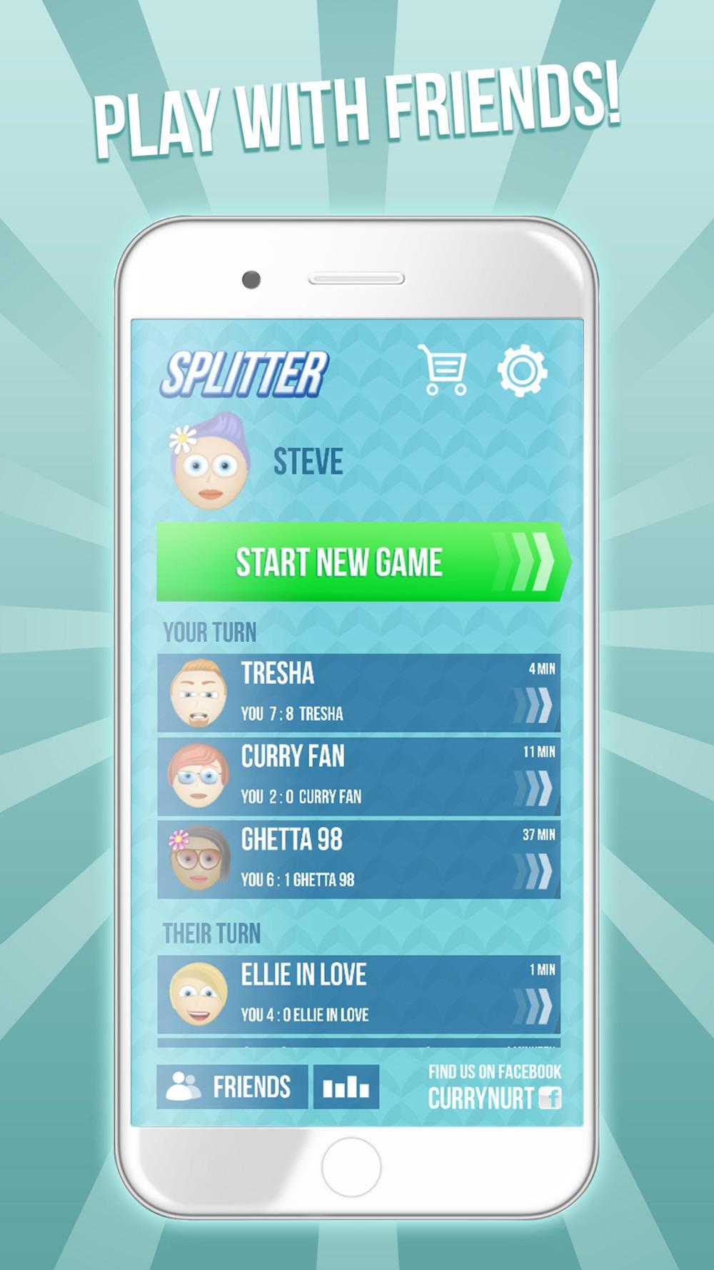Splitter – Split screen multiplayer Cheat Codes