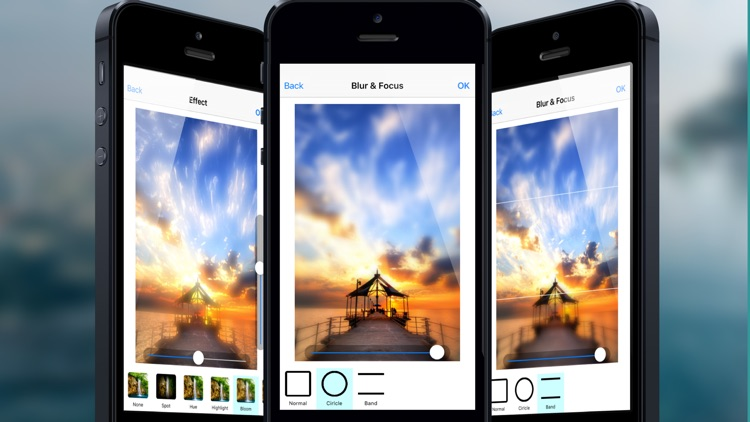 Photo Editor: Retouch Gallery/Camera Images with amazing filter effects and Save or Share it. screenshot-4