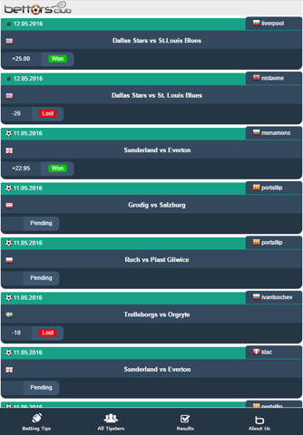 Bettors Club - Betting Tips screenshot 2