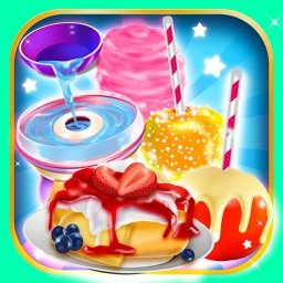 Fair Food Candy Maker Salon - Fun Cake Food Making & Cooking Kids Games for Boys Girls