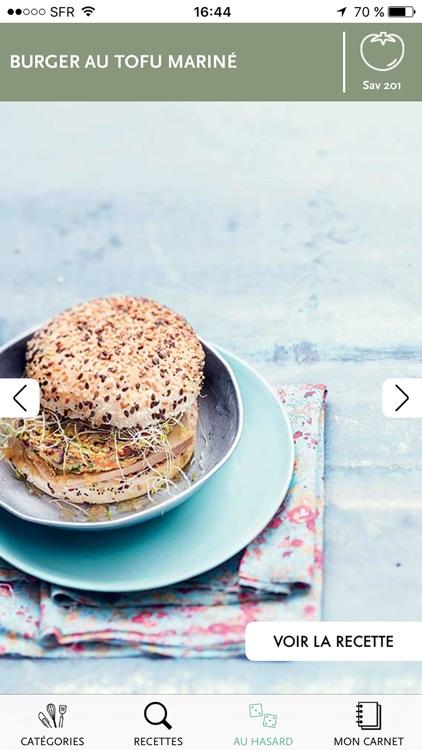 Veggie par Saveurs, plus de 700 recettes végétariennes pour se faire plaisir screenshot-3
