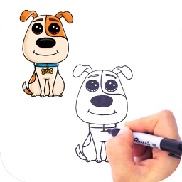 How to Draw Cute Animals Step by Step - iPad Version