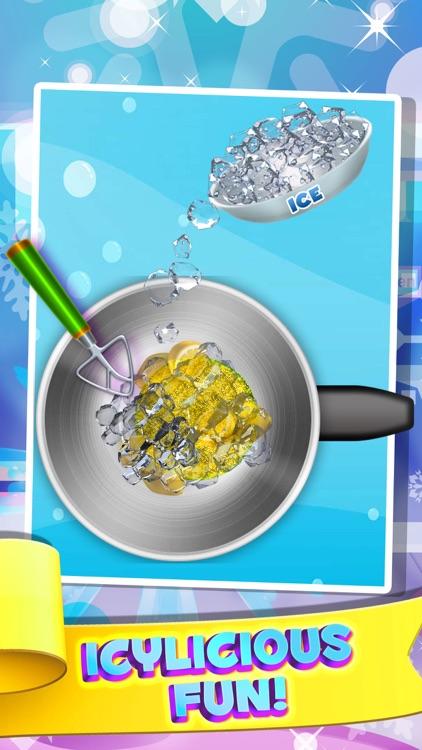 Dessert Slushy Maker Food Cooking Game - make candy drink for ice cream soda making salon! screenshot-3