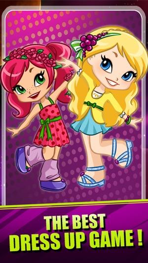 Princess Strawberry Shortcake Girls - Fashion Makeover ...