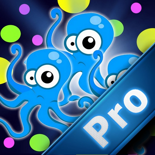 A Super Octopuses Cool Colors PRO - Colorful Fusion Game