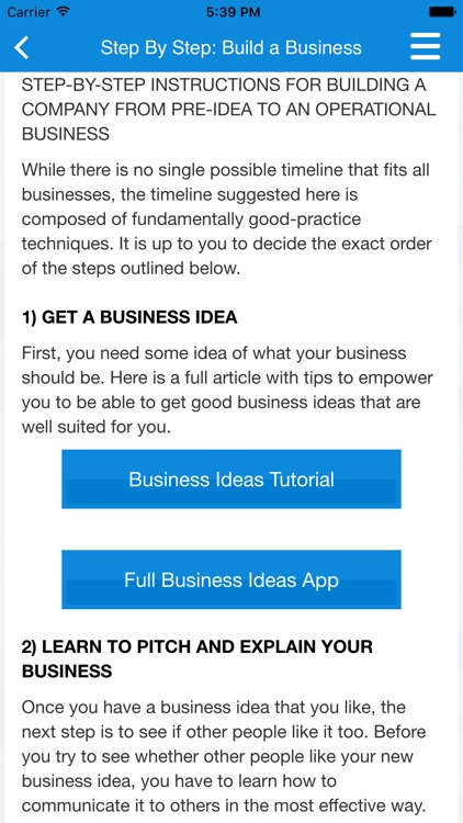 Business Plan & Start Your Business screenshot-4