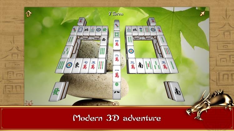 3D Mahjong Mountain FREE screenshot-0