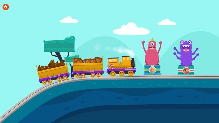 Train Driver - The Train Simulator Games For Kids screenshot-3