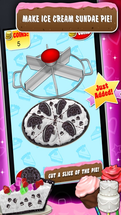 Dessert Maker Games - Make & Bake Desserts!