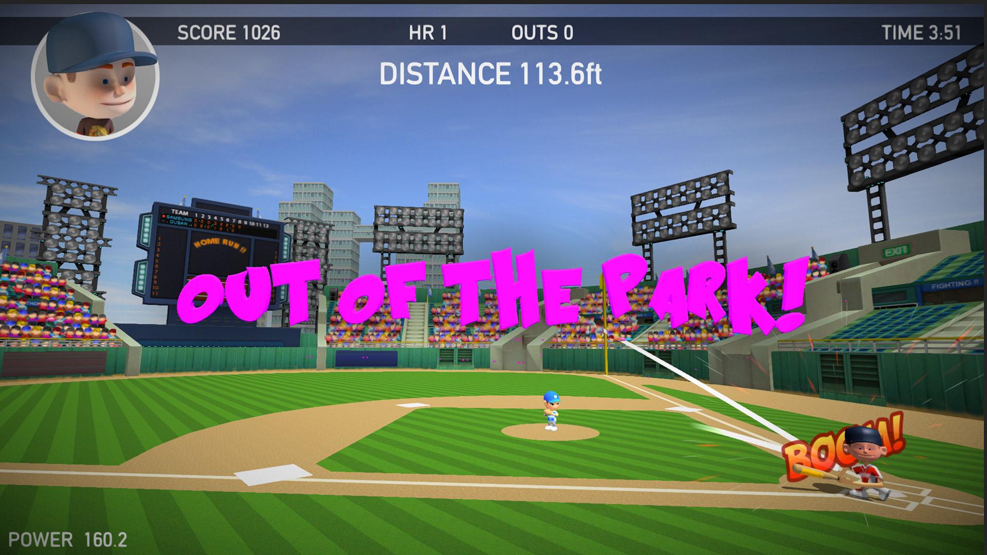 Baseball Games 2016 - Big Hit Home Run Superstar Derby ML screenshot 4