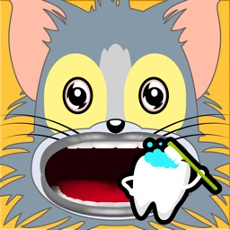 Dentist Game for Cat Tom and Jerry Edition