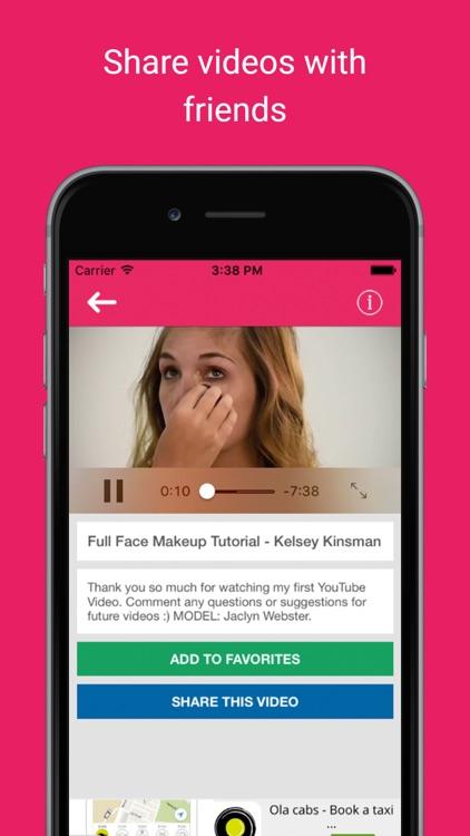 Latest home makeups: Women skin care beauty trends screenshot-3