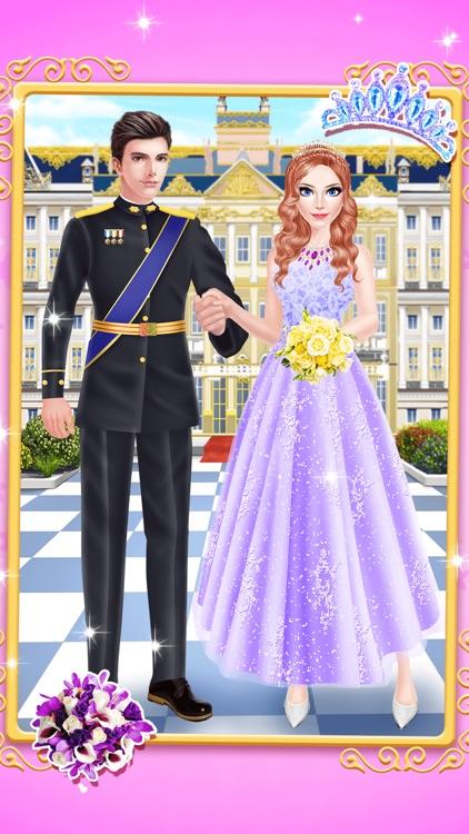 Princess Fashion - Royal Family Salon: SPA, Makeup & Makeover Game for Girls screenshot-4