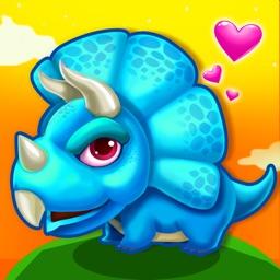 Little Dino Explorer: Baby Barney Nurturing Game