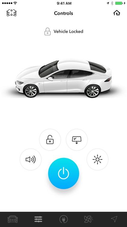 Energi - Simple Remote for Tesla