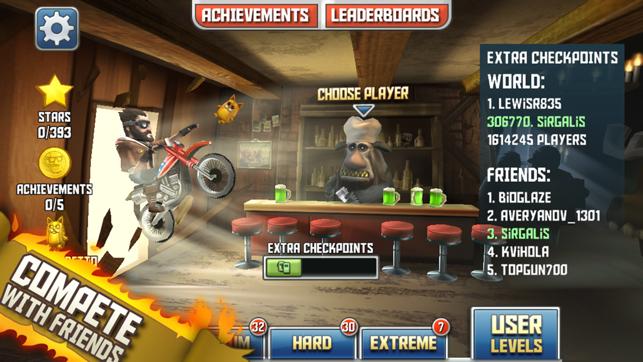 Bike Baron, game for IOS