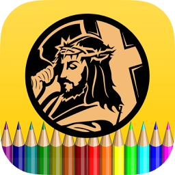 Bible Christ Coloring Book - Drawing and Paint For Kids