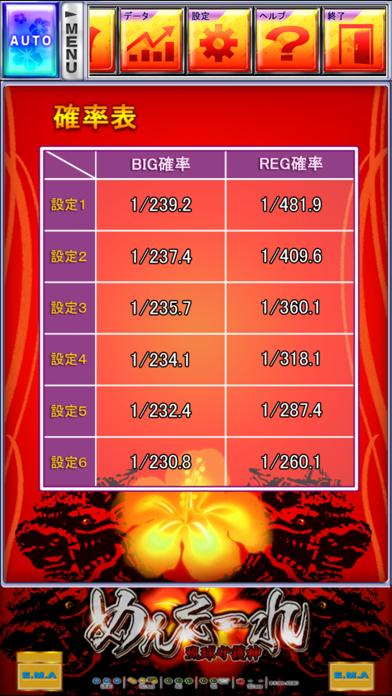激Jパチスロ めんそーれ琉球守護神のスクリーンショット4