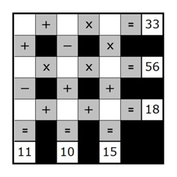Math Grids - (Japanese Puzzle Sudoku like game)