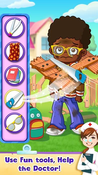 Kids Doctor Little Children Hospital Fun FREE Game screenshot three