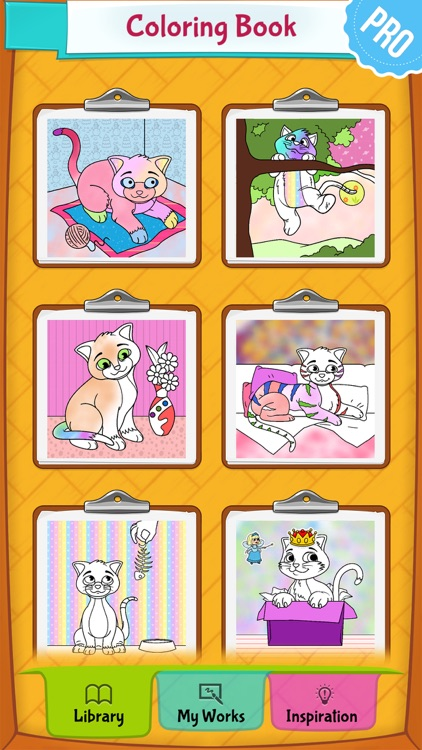 Cat Coloring Pages Pro screenshot-4