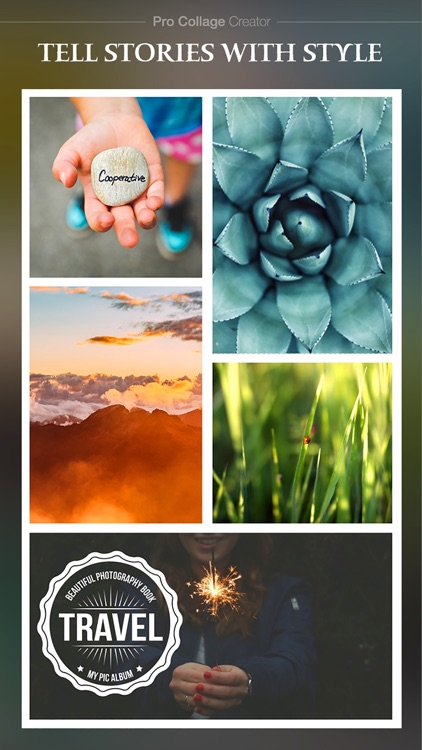 Pro Collage Creator Max - Photo Collage Editor & Layout & beauty Camera & sticker screenshot-2