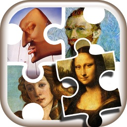 Famous Paintings Jigsaw Puzzle Game – Free Art Games for Kids to Train Your Brain