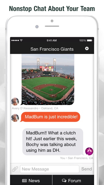 PressBox - Real-time Sports Chat, Team News, and Community Forums