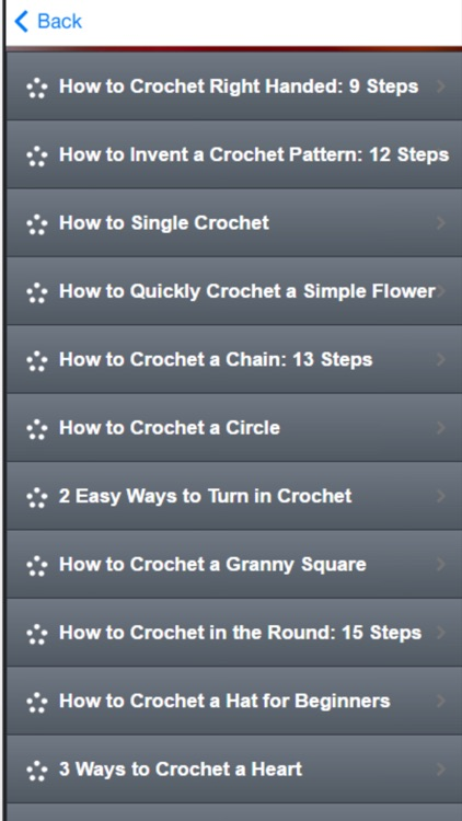 Basic Crochet Stitches - How to Crochet